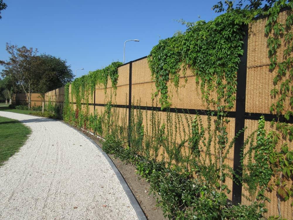 4 - Kokowall geluidsscherm - begraafplaats Duinrust, Katwijk