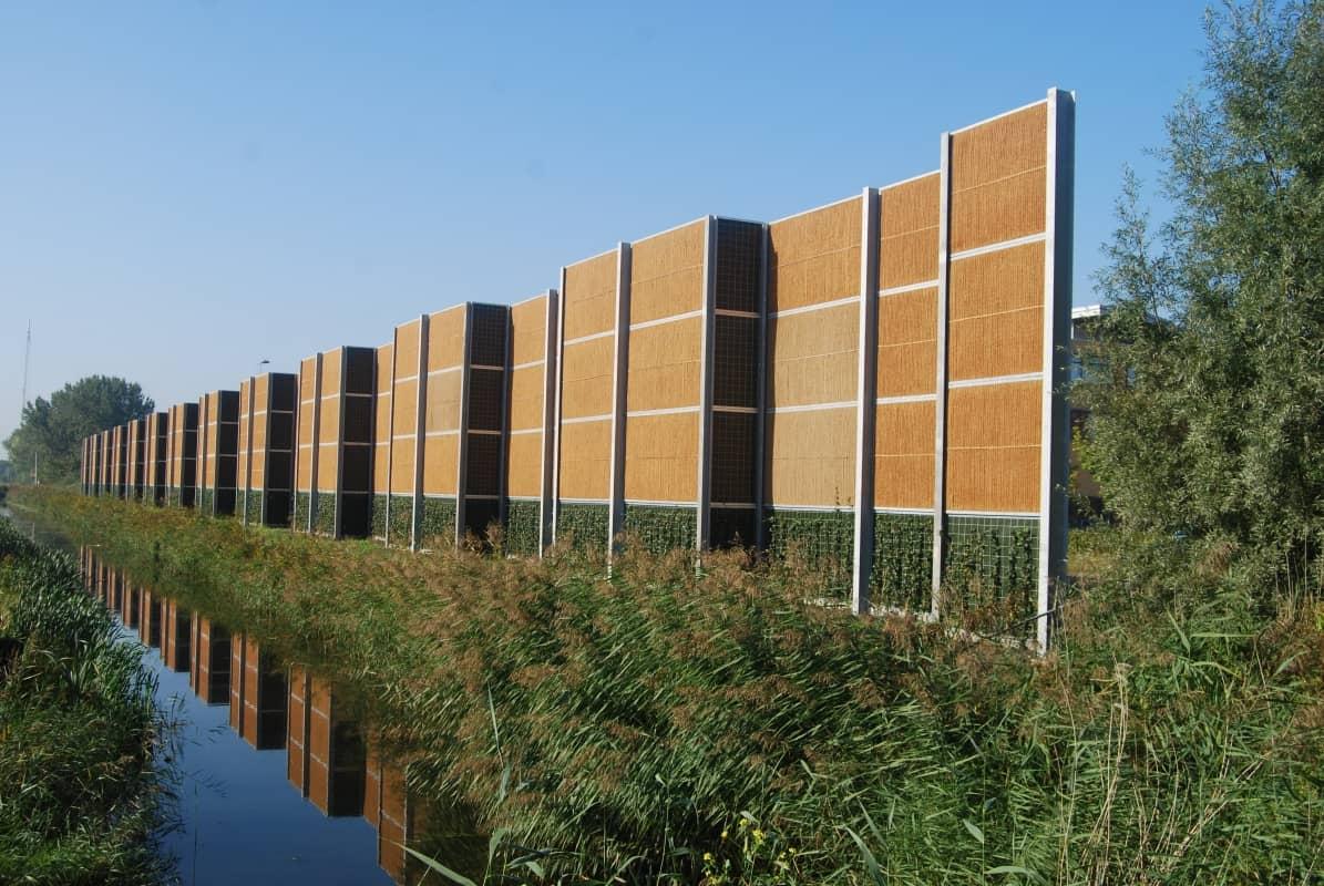 10 - Geluidsscherm-kokowall-afscheiding-hoogte-8-meter