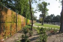 1 - Kokowall geluidsscherm - begraafplaats Duinrust, Katwijk