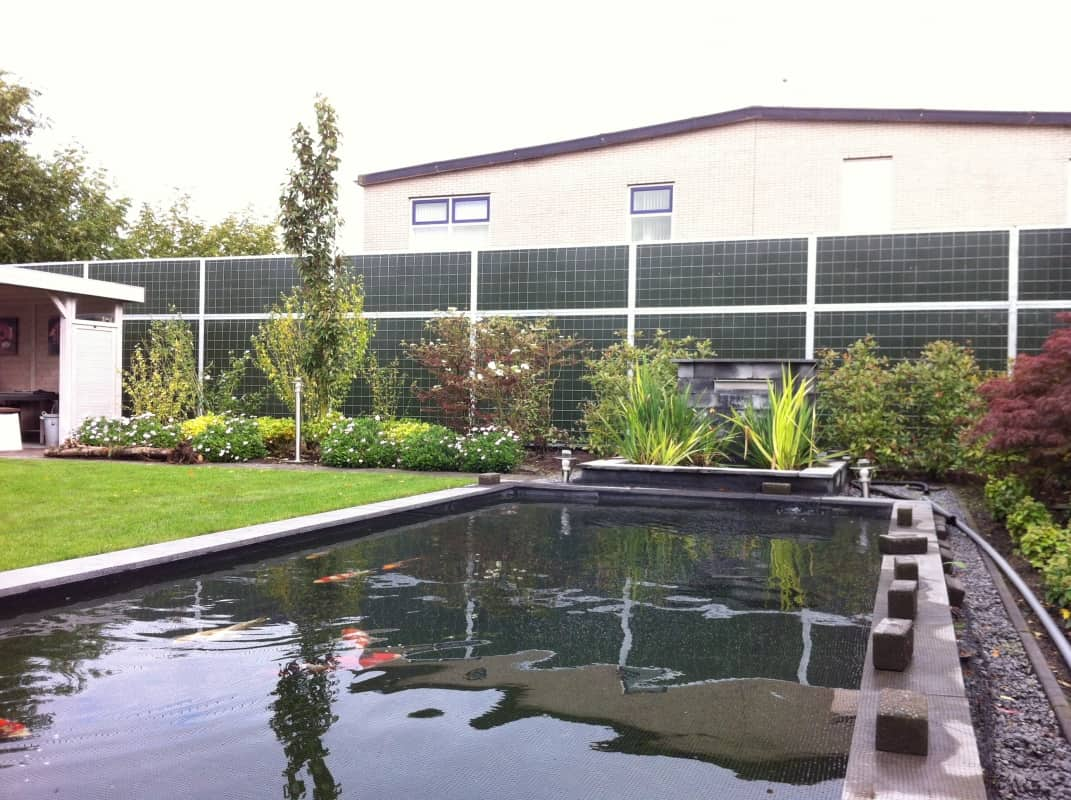 Geluidsscherm-noise-reducer-tuin
