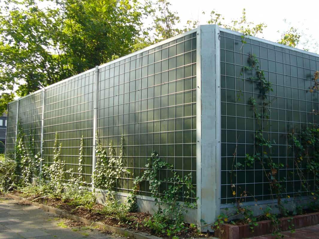 Geluidsscherm-noise-reducer-klimplanten